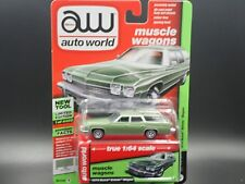 AUTO WORLD 1974 BUICK ESTATE WAGON 1:64 MUSCLE WAGONS 2018 VER A R3 1/4400