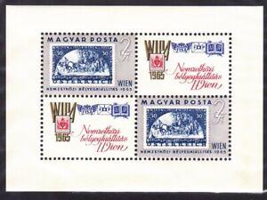 Hungary 1681 MNH OG 1965 Austrian WIPA 1935 Stamp Vienna Philatelic Souvenir Sht