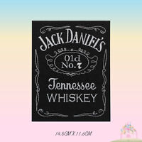 Jack Daniels NO 7 Special Embroidered Iron On Patch Sew On Badge Applique