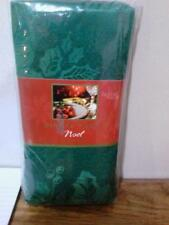 Homewear Set of 4 Green Dinner Christmas Napkins NIP