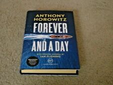 ANTHONY HOROWITZ: FOREVER AND A DAY: SIGNED EXCLUSIVE UK FIRST EDITION & FLYER