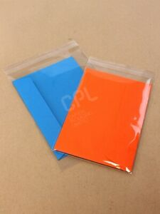 203x254mm (8x10) Greeting Card sleeve/bag Peel & Seal Pack/250 FREE DELIVERY!