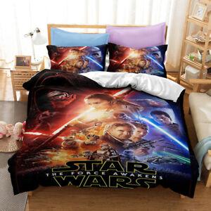 New Star Wars 3D Bedding Duvet/Quilt/Doona Cover Sets Pillowcase H