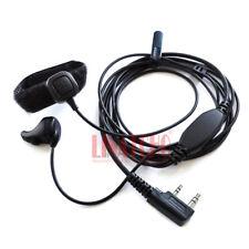 baofeng UV-5R UV-3R walkie talkie finger PTT ear bone mic headset earphone