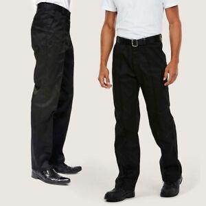 Premium Workwear Trousers by UNEEK UC901 - Regular or Long - Black or Navy