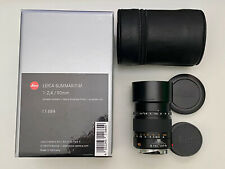 New Listing[Mint] Leica Summarit M 90mm F2.4 11684 Black With Box & Uv filter