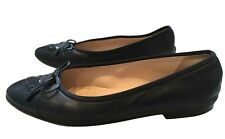 Chanel leather ballet flats pumps - Size: Euro 37 / UK4
