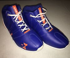 Authentic Starbury 2 Blue Orange White High Top Basketball Shoes Size 11.5