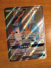 NM FULL ART Pokemon COBALION GX Card TEAM UP Set 168/181 Sun and Moon Ultra Rare