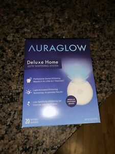 Auraglow Delux Home 20 Treatments New Taped Box