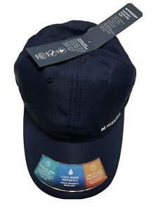 Mission Performance Instant Cooling Hat Navy Blue UPH 50 Sun Protection New NWT