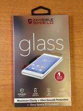 ZAGG InvisibleShield Tempered Glass Screen Protector For Sony Xperia Z3 Compact