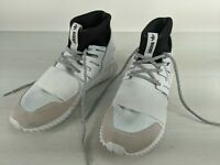 Men's Adidas Originals Tubular Doom Primeknit Shoes. White/Black. Size 9.5