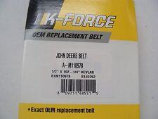 """KEVLAR EXACT OEM SPEC BELT JOHN DEERE M110978 1/2"""" X 102.25"""" LX176 LX178 LX186"""