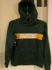 $60 NEW NIKE Green Bay Packers Hoodie Hooded Sweatshirt Youth Medium
