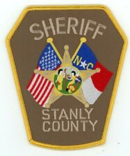 STANLY COUNTY SHERIFF NORTH CAROLINA NC PATCH POLICE COLORFUL