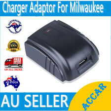 USB Adaptor Charger for Milwaukee Cordless Drill 18V 48-11-1815,C18B,M18 AU