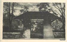 C-1910 Entrance Lowthorpe Meadows Norwich Connecticut Bronerwine 508