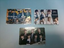 BTS Ponyca MUSIC CARD PHOTOCARD Boy in Luv BIL set of 3