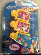 Disney Tunes KIDCLIPS Kid Clips Music Chip 3-Pack SLEEPING BEAUTY BELLE MERMAID