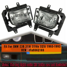 Pair Front Bumper Driving Fog Light Lamp For BMW E30 318i 318is 325i 1985-1993
