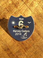 2014 Long Beach Island LBI Jersey Shore Harvey Cedars Beach Badge Week 6