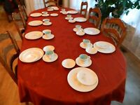 Taylor Smith & Taylor Boutonniere Ever Yours Dinnerware Set for (10)        8-5