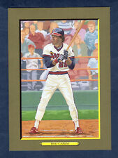 #77 Rod Carew, Angels Perez-Steele Turkey Red Cabinet T3 (#2151 of 5,000 issued)