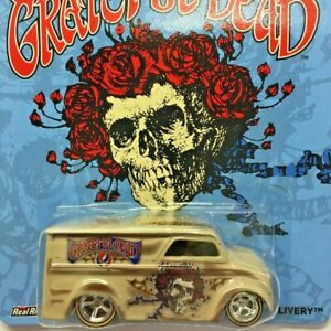 NEW Hot Wheels Dairy Delivery Grateful Dead Tan Real Riders 2014 BDT05 Genuine