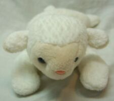 "Ty Beanie Baby Cute White Lamb Sheep 8"" Bean Bag Stuffed Animal Toy"