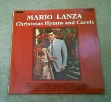 LP: Mario Lanza ‎Christmas Hymns and Carols Camden CDS 1036