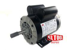 "2 HP SPL 3450 RPM 56 Frame 120/240V 15/7.5Amp 5/8"" Shaft Single Phase NEMA Motor"