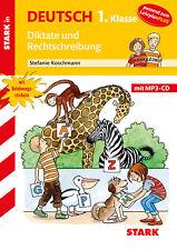 Stark in Deutsch 1. Klasse - Diktate und Rechtschreibung, mit MP3-CD Koschmann,