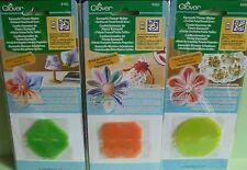 3 fabricantes de Flor de trébol se reunieron, señaló & Orchid Pétalo-Tamaño Pequeño