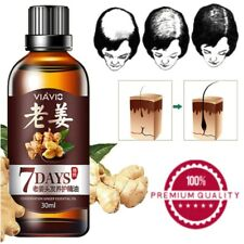 Fast Hair Growth Dense growth Ginger Serum Oil Anti Loss Treatment Essence