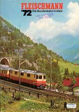 Fleischmann Katalog von 1972