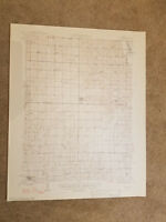 22x29 Vintage 1948 USGS Topo Map Gilman, Missouri Melbourne Fox Sugar Creek