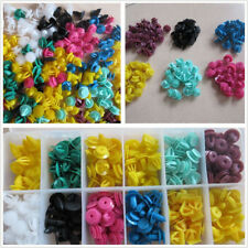 250 Pcs High Quality Plastic Mixed Size Car SUV Fasteners Bumper Clips With Box