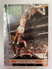 1992 Scottie Pippen Stadium Club Beam Team w/ Michael Jordan RARE 1/1? 🐐🔥READ