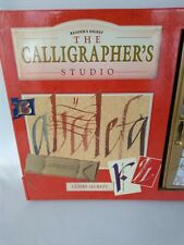 The Calligrapher's Studio Calligraphy Set Readers Digest Book Tools Arts Paints