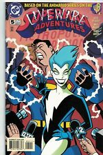 SUPERMAN ADVENTURES #5  - 1st Comic Book appearance of LIVE WIRE!