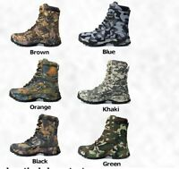Waterproof Non Slip Outdoor Tactical Sports Hiking Boots Mountain Hunting Boots