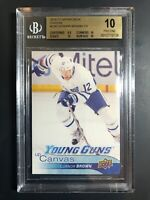 2016-17 Connor Brown Young Guns Canvas Rookie BGS 10 Pristine