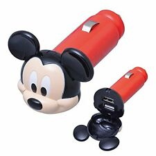 SEIWA Disney USB socket Mickey White LED Japan