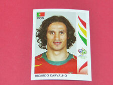 290 RICARDO CARVALHO PORTUGAL PANINI FOOTBALL GERMANY 2006 WM FIFA WORLD CUP