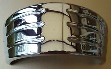 TWO  VAUXHALL CRESTA / VELOX  E MODEL CHROME REAR LAMP TRIMS 1 UNUSED 1 USED.
