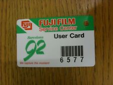 1992 Ticket: Olympic Games - Barcelona 1992, Fuji Film Service Centre User Card.