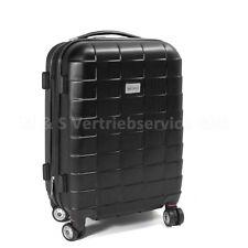"""Handgepäck Boardcase Cabin ABS Hartschale Größe M - Modell """"SQUARES"""" DUNKELGRAU"""