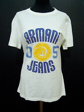 ARMANI JEANS Maglietta Donna Cotone Cotton Woman T-Shirt Sz.M - 44