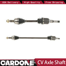 2X Front Left Right CV Axle Shaft Cardone For 2012-2015 CHEVROLET SONIC(L4 1.8L)